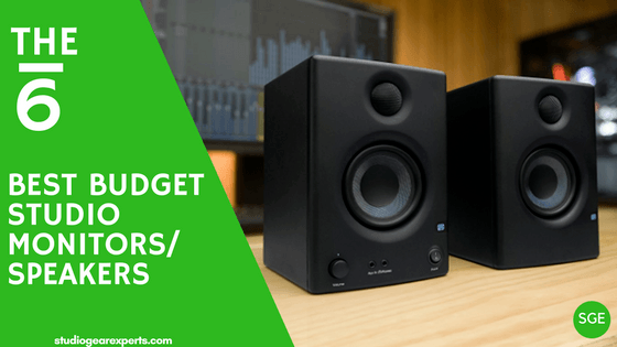 best budget studio monitors for 2018