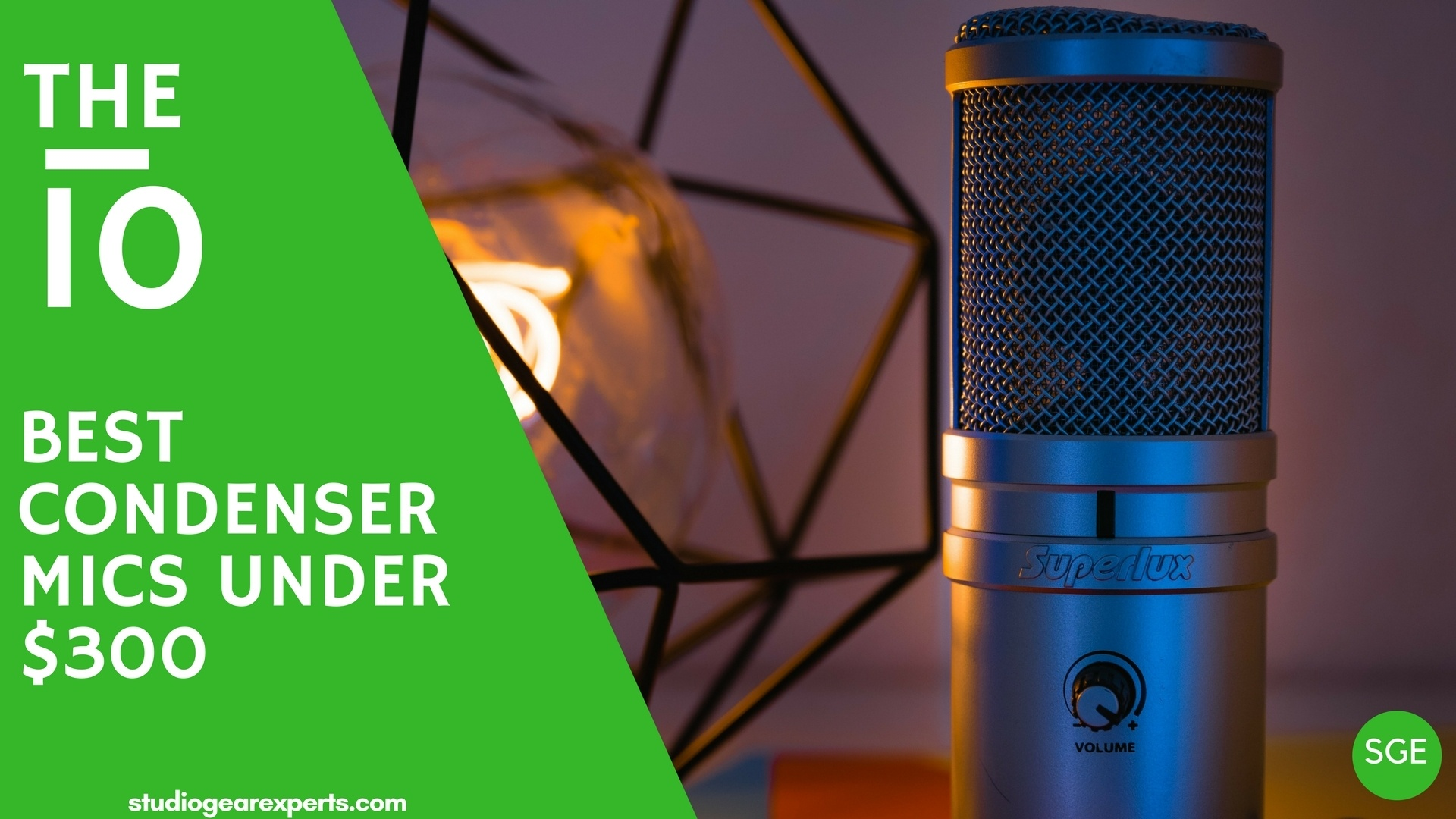 best condenser microphone under $300