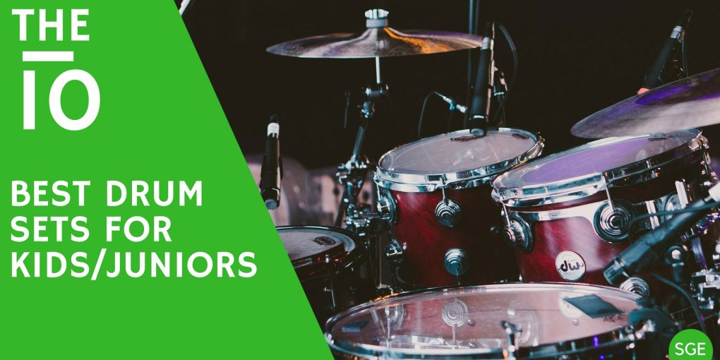 best drum sets for kids and juniors of 3, 5 and 10 years