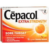 Cepacol Maximum Strength Cough Drops that Numb Throat