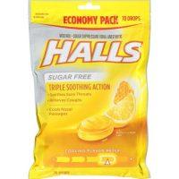 HALLS Sugar-Free Cough Drops