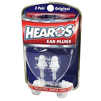 HEAROS High Fidelity Musician Ear Plugs
