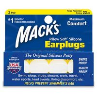 Macks Pillow Soft Silicone Earplugs