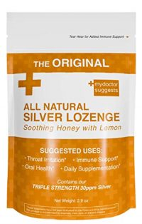 Original All Natural Silver Throat Lozenges