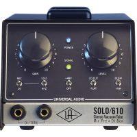 Universal Audio SOLO 610 Classic Vacuum Tube Mic Pre & DI Box