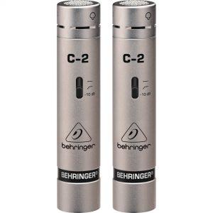 Behringer C-2 Studio Condenser Microphones