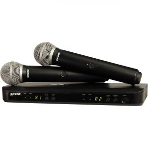 Shure BLX288 PG58 Dual Channel Handheld Wireless System